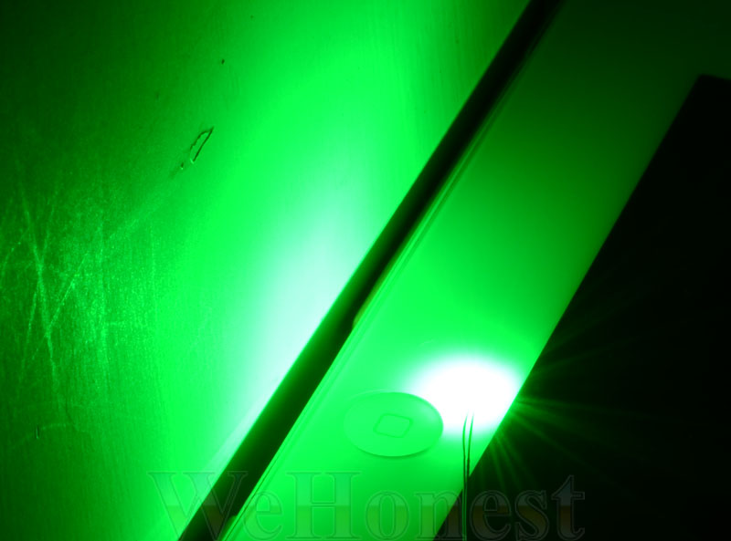 15 x Pre Wired Green #0805 SMD led street Lights Pre-soldered lamp posts HO N
