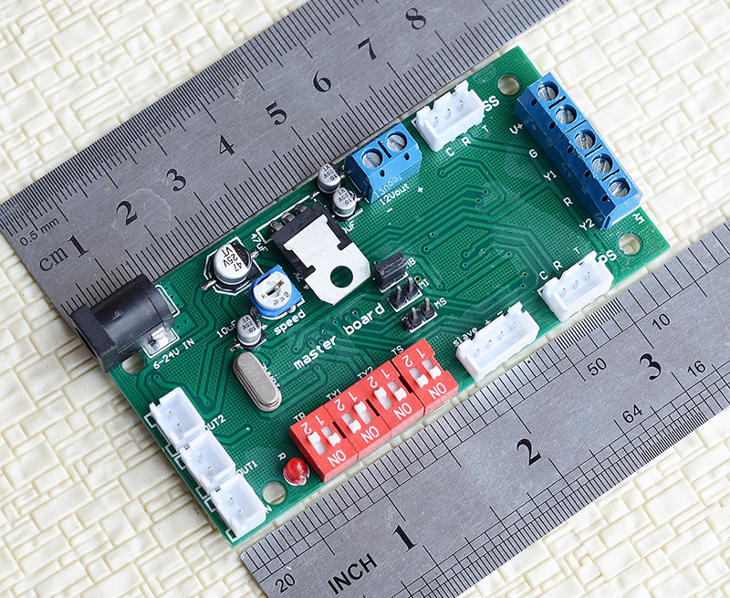 1 x trackside enhenced IR sensors train detector block signal controller trigger