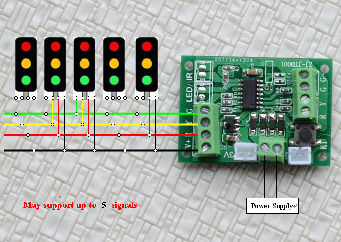Traffic Light Controller One Circuit A Week